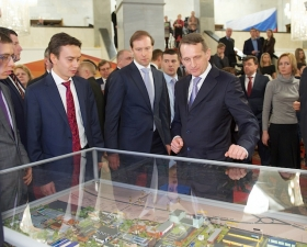 Exhibition of industrial parks in the State Duma of Russian Federation